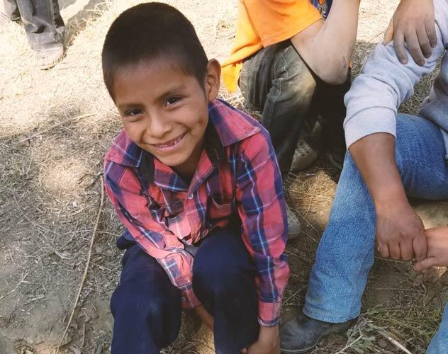 Boy Smiling Amazon smile